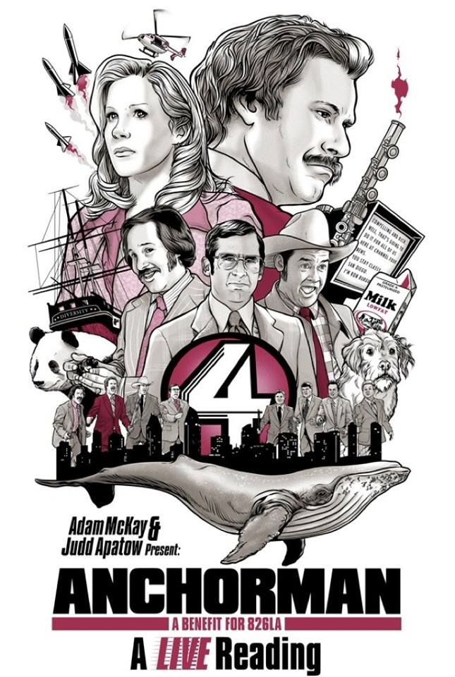 Anchorman Live Reading Event